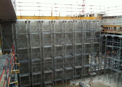 étaiement grande hauteur – Campus SFR